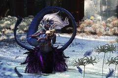 Seas and the Heavens (LiangScorpio) Tags: sl secondlife mermaid undine dm deviousminds aii fallengodsinc love flowers
