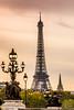 La majestueuse (Julien CHARLES photography) Tags: alexandre3 eiffel eiffeltower europe france paris pontalexandreiii toureiffel bridge pont