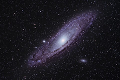 M31 Andromeda Galaxy (mfavk) Tags: m31 m32 m110 andromeda galaxy nikon d3300 sigma 150600mm stack tracker stars sky star stargazing deep deepspace space dark netherlands night ngc 300mm astrometrydotnet:id=nova2439368 astrometrydotnet:status=solved