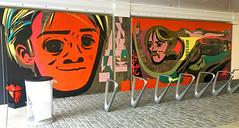 Steve Prefontaine by Speto (wiredforlego) Tags: graffiti mural streetart urbanart aerosolart nike nikeworld beaverton oregon pdx speto