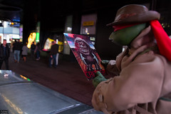 Raphael In Disguise (MadMartigen) Tags: nyc newyork ny newyorkcity manhattan raphael tmnt tmnt1990 actionfigure toy teenagemutantninjaturtles