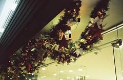 2055/1715 (june1777) Tags: snap street subway seoul samseongdong coex night light christmas kiev 4 kiev4 kiev4a jupiter 35mm f28 fuji superia xtra 400 pushed 2