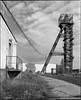 Petřvald, Czech Republic. (wojszyca) Tags: mamiya rz67 6x7 120 mediumformat 75mm shift gossen lunaprosbc epson v800 fuji neopan acros xtol stock coal mine shaft tower industrial decay industry mining