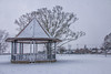 Empty Band Stand (Tony Howsham) Tags: canon eos70d sigma 18250 os oulton broad lowestoft suffolk east anglia landscape snowy snow winter