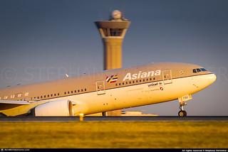 [CDG.2009] #Asiana.Airlines #OZ #B772 #HL7732 #awp