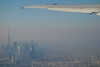 Dubai seen from Emirates b773 (ilendyoumyeyes) Tags: dubai burj khalifa 777 emirates airplane aerial
