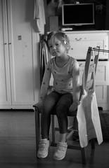 Scan-180114-0034 (Oleg Green (lost)) Tags: home family raw unedited bw film 35mm bessat nokton 1550 voigtlander fomapan400 rodinal portrait daughter