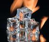 Ice and Fire (jeff's pixels) Tags: macromondays myfavouritenovelfiction macro monday iceandfire gameofthrones ice fire reflection flame artistic nikon d850