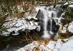 Icy Enders Falls #3 (tquist24) Tags: connecticut endersfalls endersstateforest nikon nikond5300 outdoor cold geotagged ice longexposure river snow tree trees water waterfall winter granby unitedstates
