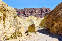 Wondrous Cathedral Rock (Eyes Open To Life) Tags: rock rockformations desert arid landscape nature rugged wilderness deathvalley nationalpark geology