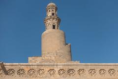 20171226 Cairo, Egypt 08349-53 (R H Kamen) Tags: ahmadibntulonmosque ahmedibntulunmosque cairo egypt egyptianculture middleeast northafrica architecture day famousplace minaret mosque muslim outdoors placeofworship rhkamen spiralstaircase