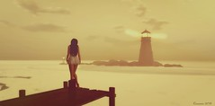 Just Like a Lighthouse you must stand alone... (Romannie Gypsy-Eden) Tags: anduril secondlife lighthouse feeling songs