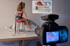 Making Of Less Than An Inch. (Digifred.nl) Tags: macromondays lessthananinch digifred 2018 hmm nederland netherlands nikond500 makingof macro macrophotography closeup inch barbie foot schoen voet shoe highheel hogehak
