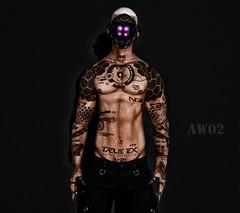 InHuman (AW02) Tags: sl secondlife photography avatars fashion tattoo