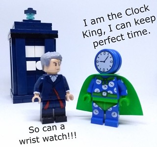 Time Lord meets Clock King