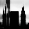 Dark times (mathieuo1) Tags: england manchester uk dark black blackandwhite street streetphotography strengh strong light hard harsh shape shadow sharp reflection mirror town urban tower building ancient pike shady shard lines composition explore discover silhouette nikon dlsr zoom graphism work back sun sunbathing mathieuo