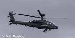 20170611-IMG_9439-Edit (deltic21) Tags: apache helicopter chopper gunship weapon weapons missiles gun guns armour blade army agile stealth rotor cosford raf airshow aircraft display menacing camoflage green grey sky skies