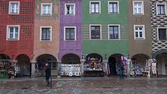 Colourful Poznan Rynek (HansPermana) Tags: poznan posen poland polen polska oldbuilding oldtown rynek townhall townsquare city cityscape classic colorful eu europa europe centraleurope december 2017 winter
