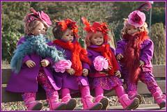 Wir sind wieder daaaaa .... (Kindergartenkinder) Tags: kindergartenkinder annette himstedt dolls gruga grugapark essen tivi sanrike milina annemoni