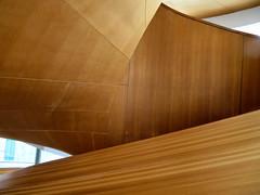 Circular Staircase, Art Gallery of Ontario, Toronto (duaneschermerhorn) Tags: art gallery museum artgalleryofontario ago stairs steps stairway staircase circular spiral spiralstaircase circularstairway wood color