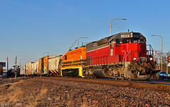 """Eastbound Manifest in Independence, MO (""""Righteous"""" Grant G.) Tags: mna tner missouri northern arkansas railroad railway up union pacific emd power train trains east eastbound manifest freight"""