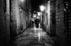 Nocturno (Koprek) Tags: leicam2summaron35mm2 kodaktrix 1600 film croatia dubrovnik decembar 2017 rain nightlight cold wind