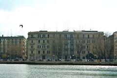 Questa è Bari-Italy (Mediterranea.....scatto e basta!) Tags: bari italia italy abitazioni alberi gabbiano cielo mare cittàdimare