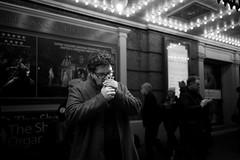 The Cigarette, NYC (Nikita Payusov) Tags: streetphotography street leica leicam10 leica28mmsummilux leica28mm light manhattan nyc newyork thetimessquare