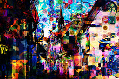 Trippy Old Tallinn (Kalev Vask.) Tags: kalevvask postprocessed photoshop photomanipulation digiart photoart painterly artistic creative estonia tallinn manipulated ownphoto phototopainting buildings architecture abstract filterforge