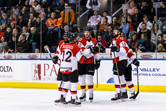 "Kansas City Mavericks vs. Cincinnati Cyclones, February 3, 2018, Silverstein Eye Centers Arena, Independence, Missouri.  Photo: © John Howe / Howe Creative Photography, all rights reserved 2018. • <a style=""font-size:0.8em;"" href=""http://www.flickr.com/photos/134016632@N02/40086497102/"" target=""_blank"">View on Flickr</a>"