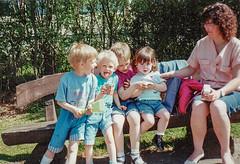 Meine Familie 1990 (Günter Hentschel) Tags: familie lieblingsmenschen menschen mensch people kinder children longtime deutschland germany germania alemania allemagne europa nrw hentschel flickr 1990 1992