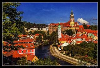 Český Krumlov_UNESCO World Heritage Site_Jižní  Čechy_South Bohemian Region_Czechia