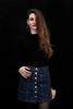Out of the darkness (piotr_szymanek) Tags: marcelina portrait studio longhair skinny woman lady girl young eyesoncamera hand face eyes mini skirt stockings 1k 5k 10k 20f 50f marcelinab 20k