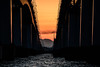 琵琶湖大橋8・Biwako Bridge (anglo10) Tags: 大津市 滋賀県 japan 琵琶湖 湖 lake 日の出 sunrise 琵琶湖大橋 橋 bridge