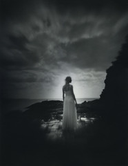 Between The Sun And Moon (micalngelo) Tags: analog filmphoto portrait debonaircamera dianaclone645 mediumformatphotography trixfilm