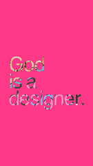 God Is A Designer 10 Year Anniversary (acevvvedo) Tags: god is designer acevedo 10 years iphone wallpaper mobile