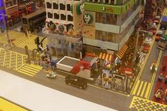 Nathan Road reproduced in Lego at the Hong Kong LEGO Store (Marcus Wong from Geelong) Tags: langhamplace hongkong2016 hongkong mongkok shoppingcentre shopping shoppingmall