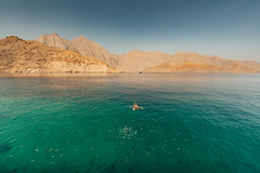 Musandam, Oman (Robert Haandrikman) Tags: musandamgovernorate oman om beauty beautiful people fisher fishing dhaw fish snorkelling beach rock rocks mountains musandam blue red yellow sun sky water sea dolphin dolphins cruise