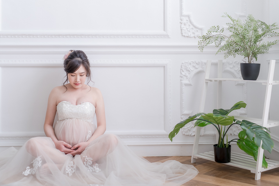 推薦 台南孕婦照 清新唯美風格 YY 005