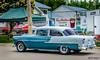 1955 Chevy 210 2 door post (kenmojr) Tags: 2017 antique atlanticnationals auto car classic moncton newbrunswick show vehicle vintage centennialpark kenmo kenmorris carshow nikon d7000 nikkor 18105 1955chevy cehvrolet 210 2doorpost twotone 2tone canada