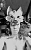 loba (Valeria Dalmon) Tags: valeriadalmon wolf lobo cartapesta mask mascara animal escultura sculpture selfie autorretrato papel paper handmade commisiened arte art