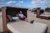 Chilling out during beach walk (TimoOK) Tags: sal capeverde cv kapverde tarja beach ranta sänky vuode bed rest lepo