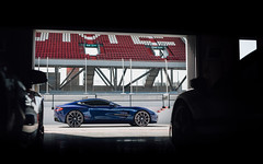 Ready for the track. (Alex Penfold) Tags: blue aston martin one77 supercars supercar super car cars one 77 177 alex penfold 2017 dubai middle east
