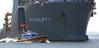BOKALIFT 1 & LUNA (kees torn) Tags: bokalift1 boskalis heavylift hoekvanholland offshore nieuwewaterweg maasmond huismanschiedam