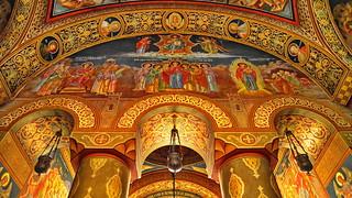 Orthodox Church in Iaşi, România