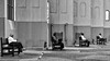 Sit Down and Relax (Leipzig_trifft_Wien) Tags: street streetphoto streetphotography repeating person people human decisive moment monochrome black wjhite grey bench sitting relaxing contrast city urban living