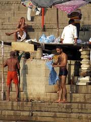 varanasi 2017 (gerben more) Tags: varanasi benares india people ghat