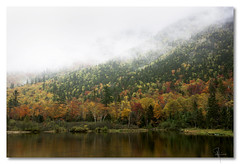 New England autumn - by John Runions (jrunions1) Tags: whitemountains newhampshire autumn fall color tree mountain water reflection