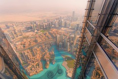 Way up high (williamslisa630) Tags: 6d tall reflecting world travel stunning explore bright high window building canon goldenight golden sunlight dubai view sunset
