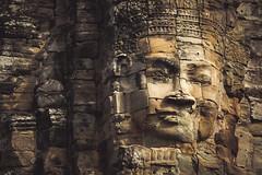Temple of Smile (preze) Tags: bayon madhyadri khmer unesco bodhisattva avalokiteshvara gesicht face lächeln smile angkor siemreapprovince kambodscha cambodia südostasien templeruin tempelruine sandstein ruinen tower angkorthom madhyadritemple